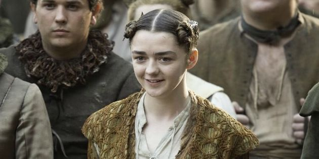 Maisie Williams Freaks Out Over 'Game Of Thrones' Season
