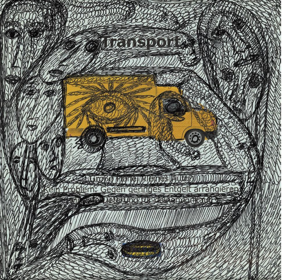 "<strong>Mehrdad Rashidi</strong>, ""Untitled,"" 2006-2008, ballpoint pen on paper"