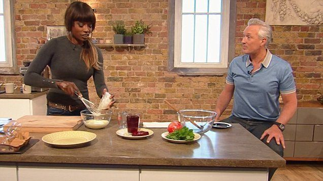 Spandau Ballet's Martin Kemp was one of Lorraine's guests on this week's