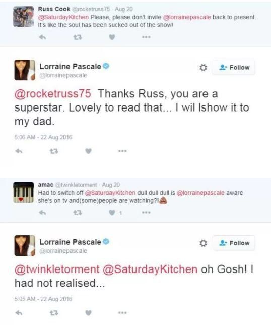 Lorraine Pascale Hits Back At 'Saturday Kitchen' Viewers Who Criticised Her Presenting