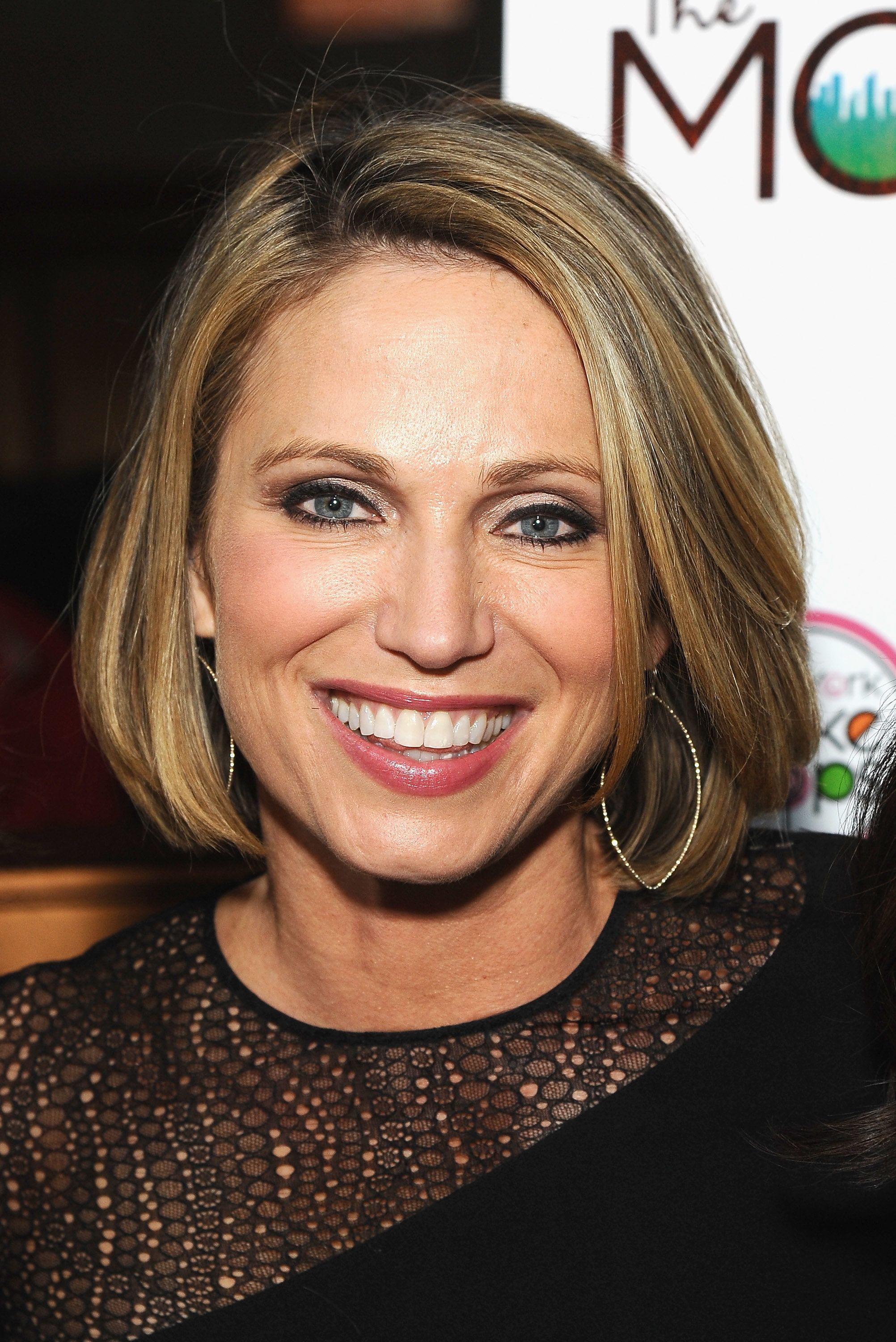 NEW YORK, NEW YORK - APRIL 06:  TV news journalist Amy Robach attends 'Sh*TTY Mom's For All Seasons' release party at Haus on April 6, 2016 in New York City.  (Photo by Gary Gershoff/Getty Images)