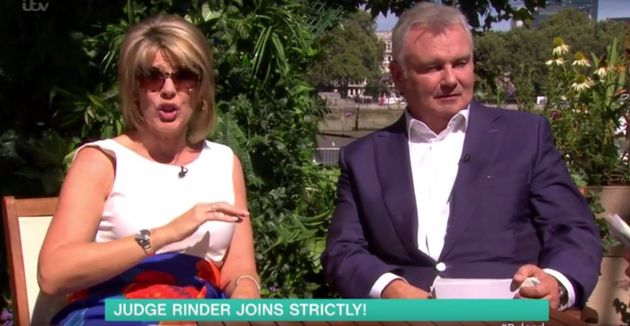 Ruth Langsford spoke about her shattered 'Strictly' dreams on 'This