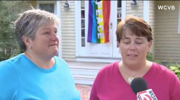 Mass. Neighborhood Goes Rainbow After Vandals Steal Pride Flag