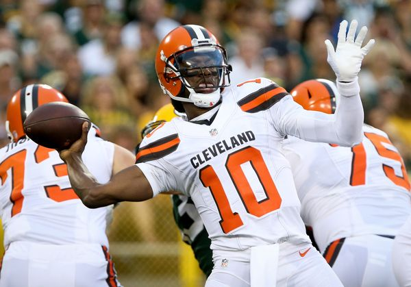 """Griffin will be the Browns' 25th starting quarterback since 1999 -- the most in the NFL. As I <a href=""""https://www.huffpost.c"""