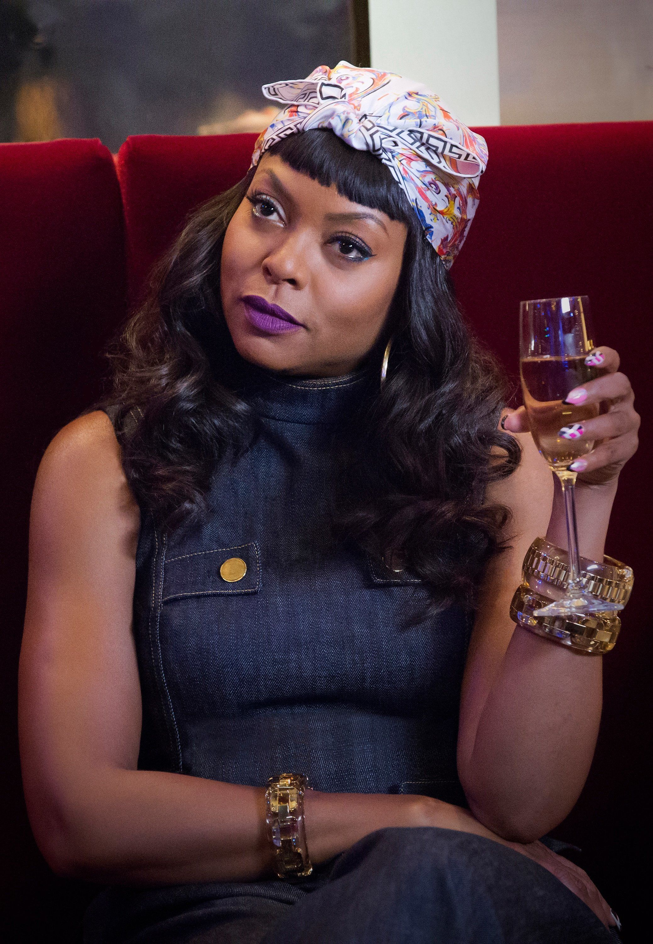 EMPIRE: Taraji P. Henson as Cookie Lyon in the Poor Yorick episode of EMPIRE airing Wednesday, Oct. 14 (9:00-10:00 PM ET/PT) on FOX. (Photo by FOX via Getty Images)