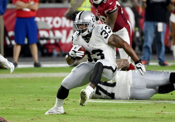I still expect big things from Latavius Murray, but the Raiders have a gem in the 5-foot-8, 205-pound Washington. The rookie