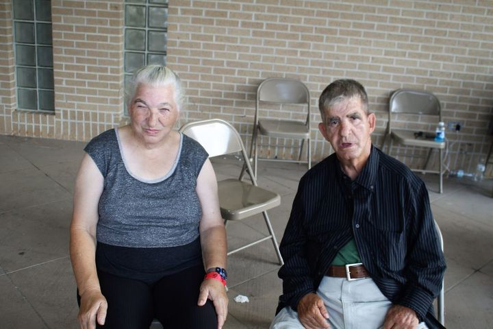 Herbert Howard McMorris and his wife Cynthia were separated for five days.