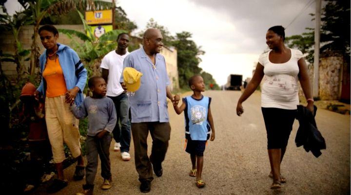 Father Joseph in Fondwa, Haiti.