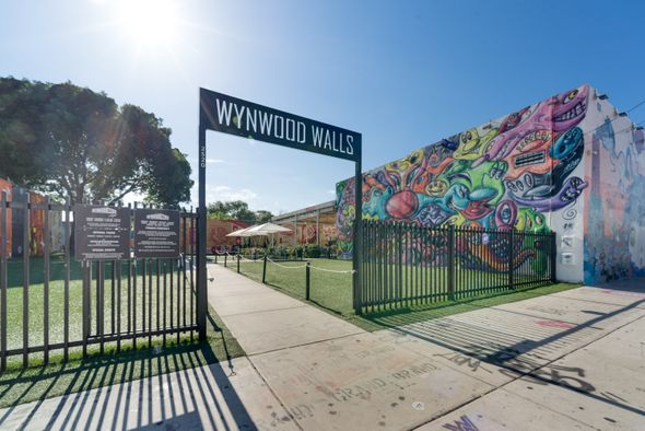 Wynwood Walls street art in Miami