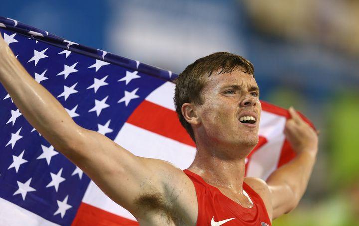 Nineteen-year-old runner Michael Brannigan.