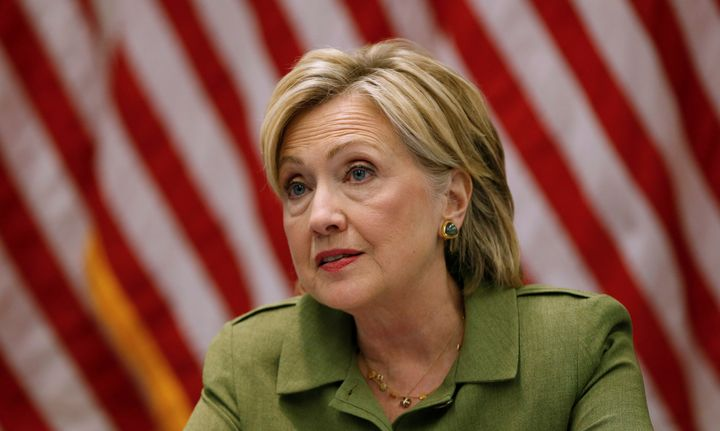 Hillary Clinton may be the next commander in chief.