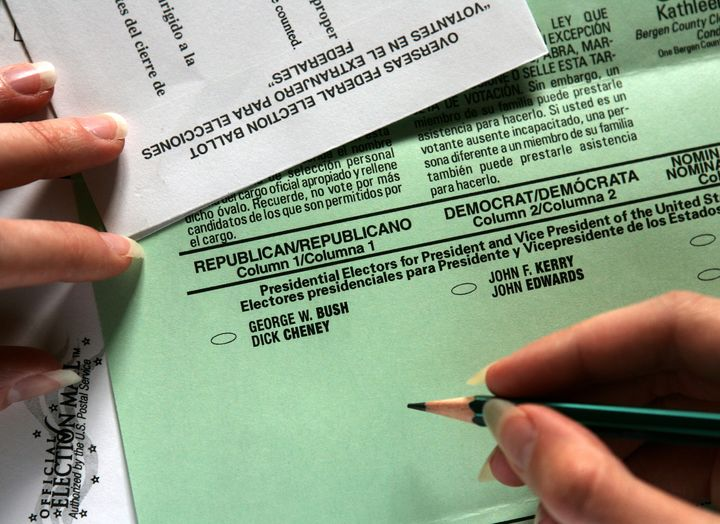 Millions of U.S. citizens living abroad and active-duty members of the military whoare eligible to vote often don't.