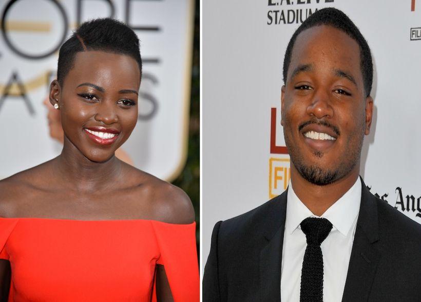 Lupita N'yongo and Ryan Coogler.