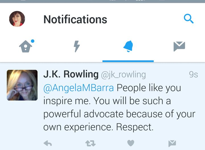 <strong>An Open Letter To J.K. Rowling From The Adoptee You Tweeted To</strong>