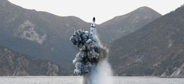 North Korea Launches Ballistic Missile From Submarine