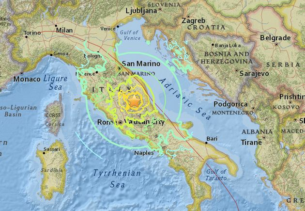 Dozens Killed as Earthquakes Strike Central Italy