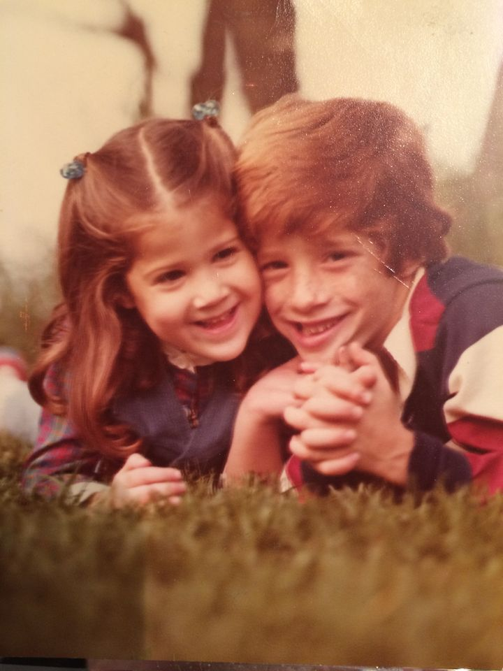 Me and my brother in 1978