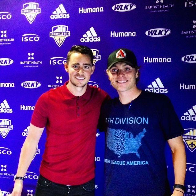 Chandler Hoffman and I.