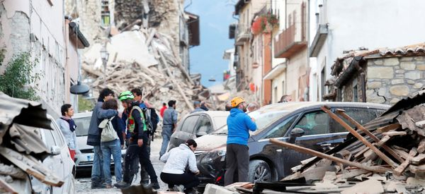 Dozens Dead After Strong Earthquake Levels Buildings In Central Italy