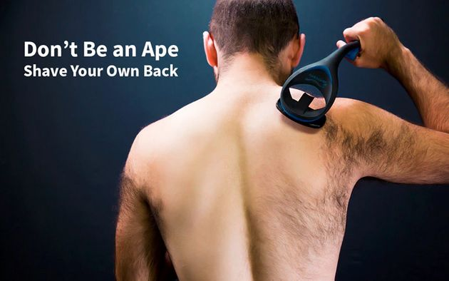 BaKblade 2.0: The Giant Shaver That Removes Back Hair In