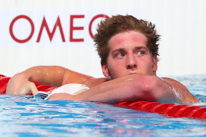 USA swimmer James Feigen, who's accused of vandalizing a Rio gas station and lying about being robbed, has issued a mea