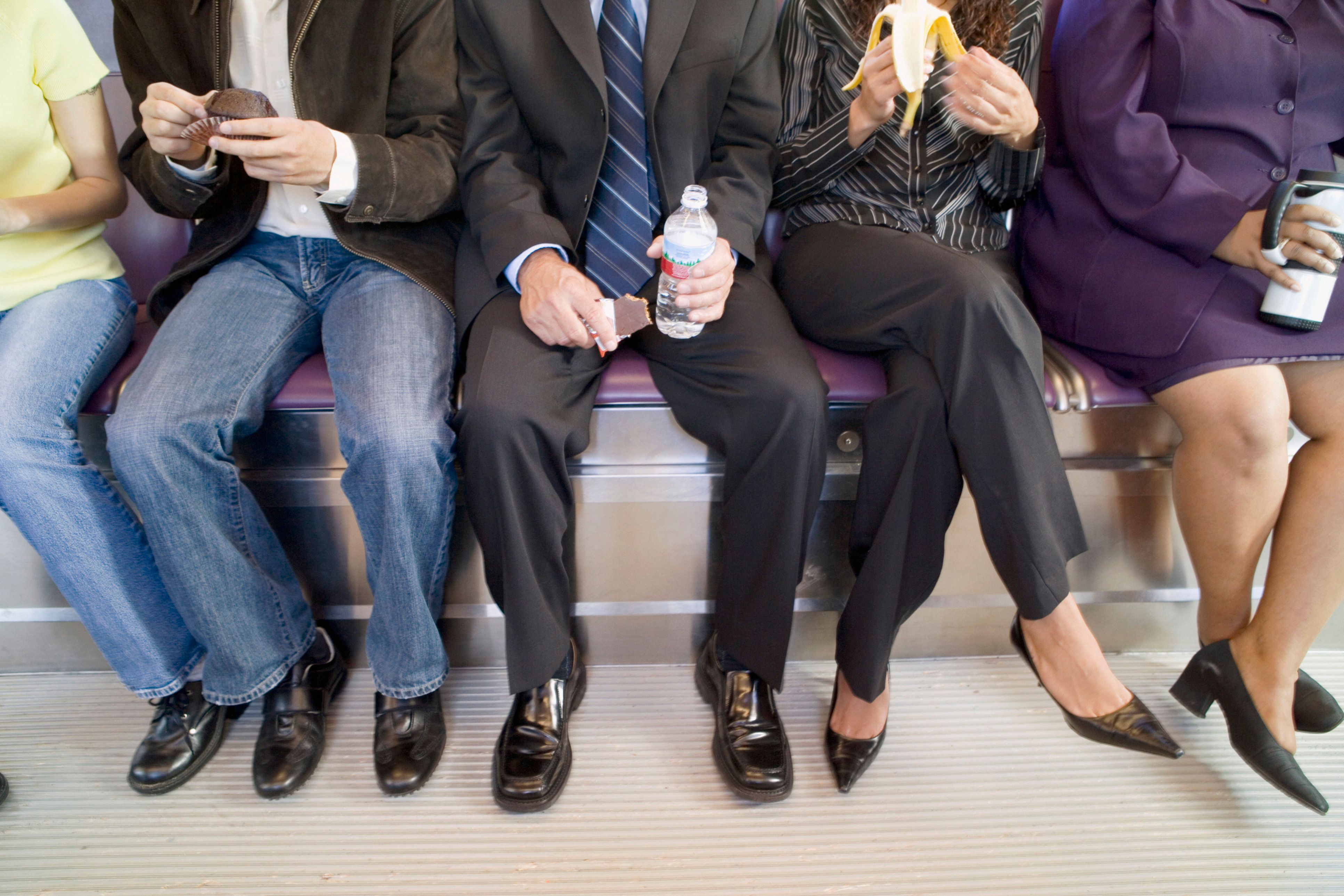 Commuters Are Consuming Extra 800 Calories Every Week And It's Harming Their