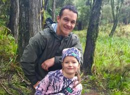Dad Defends Himself After Posting Photo Of Daughter Killing And Eating A Stag