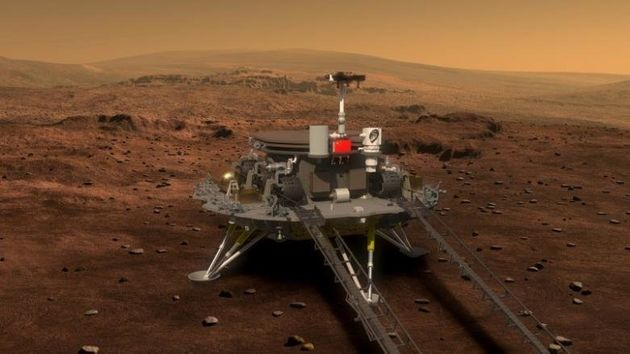 China Unveils Images Of The Rover It Hopes To Send To Mars In