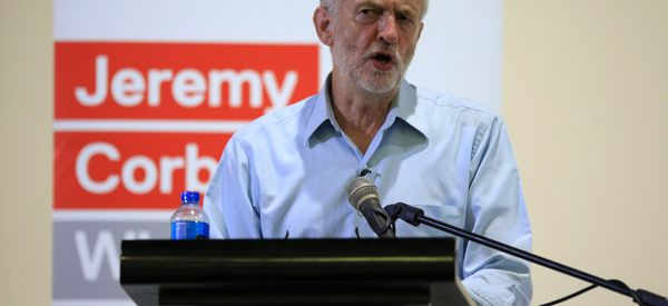 Jeremy Corbyn Reacts Angrily To Questions About Virgin Train Row