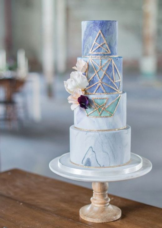 The Most-Pinned Wedding Cake Trends Of 2016