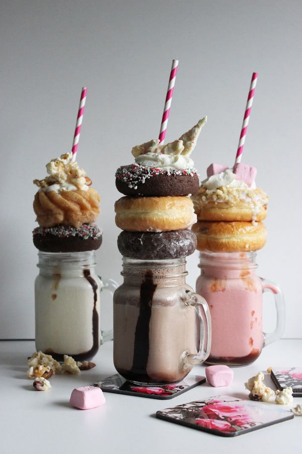 The Crazy Over The Top Milkshake Recipes You Totally Want