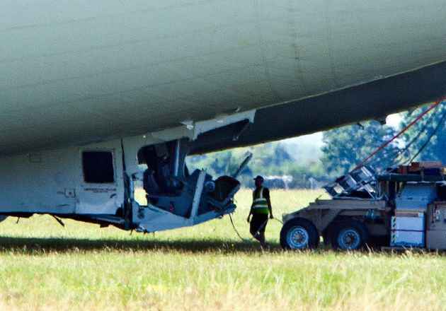 No one was injured in the collision, but the aircraft sustained damage to the