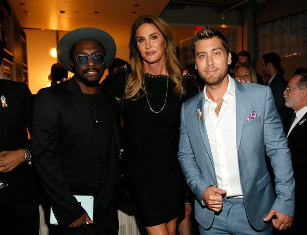 IMAGE DISTRIBUTED FOR ONEPULSE FOUNDATION - will.i.am, from left, Caitlyn Jenner and Lance Bass attend onePULSE: A Benefit fo