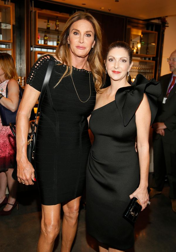 Caitlyn Jenner, left, and Barbara Poma attend onePULSE: A Benefit for Orlando at NeueHouse Hollywood on Friday, Aug. 19, 2016
