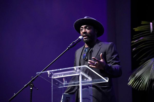 will.i.am speaks at onePULSE: A Benefit for Orlando at NeueHouse Hollywood on Friday, Aug. 19, 2016, in Los Angeles. (Photo b