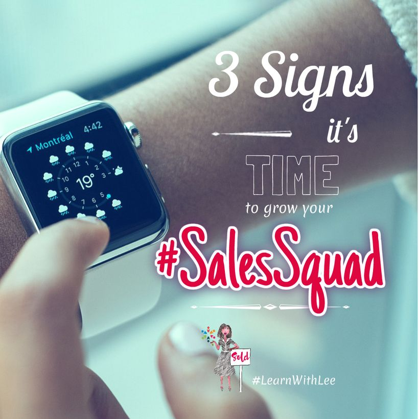3 Signs It's Time to Grow Your #SalesSquad | HuffPost