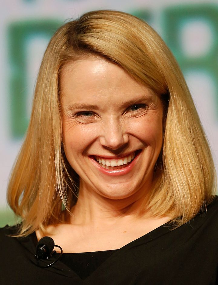 Yahoo CEO Marissa Mayer -- 48 percent of female CEOs on the S&P 500 sport blonde locks.