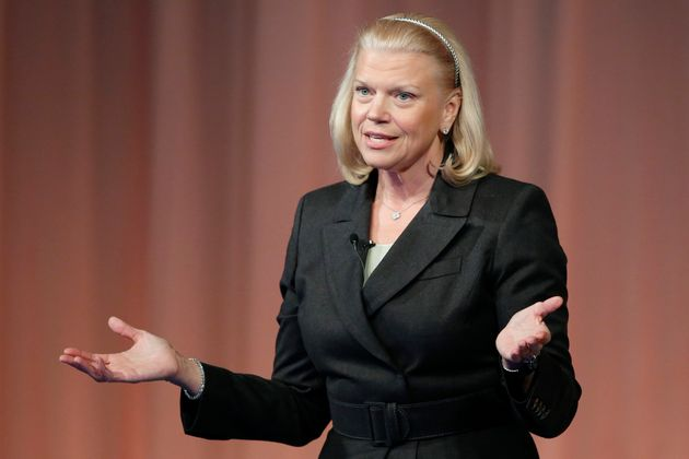 IBM chief executive Virginia 'Ginni' Rometty. Nearly half of the (very few) women on the S&P 500...