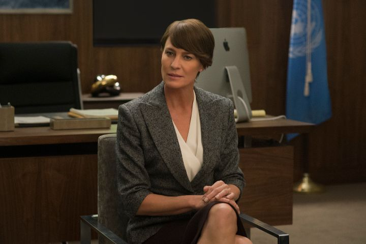 "Claire Underwood, played by Robin Wright, didn't stay brunette for long on ""House of Cards."""