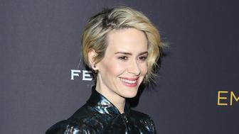 BEVERLY HILLS, CA - AUGUST 22:  Sarah Paulson attends the Television Academy's Performers Peer Group celebration held at Montage Beverly Hills on August 22, 2016 in Beverly Hills, California.  (Photo by Michael Tran/FilmMagic)