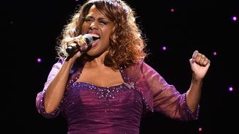 ATLANTA, GA - MARCH 28:  Singer Jennifer Holliday performs onstage at John Lewis 75th Birthday Celebration at The Tabernacle on March 28, 2015 in Atlanta, Georgia.  (Photo by Paras Griffin/Getty Images)