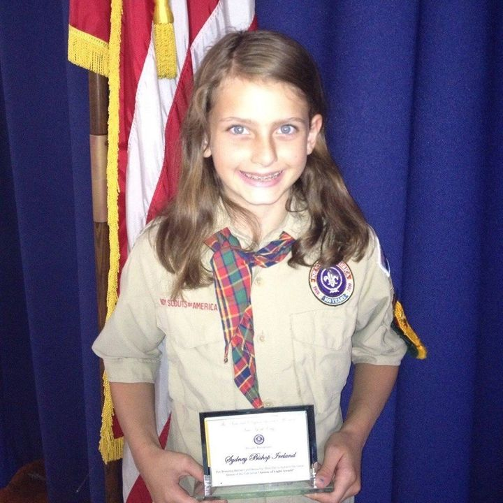 Sydney Ireland, a former unofficial Cub Scout member from New York, has been petitioning the Boy Scouts of America to accept girls.