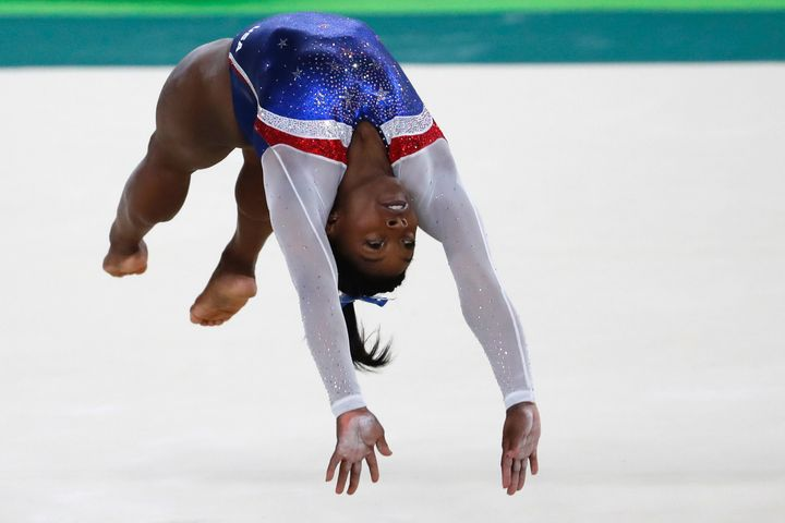 This Pic Proves Simone Biles Is A Mere Mortal After All