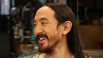 Steve Aoki spoke with Arianna Huffington about his hair caffeine consumption and dreams