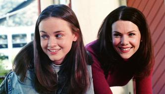 Gilmore Girls (WB) Season 1, 2000-2001Episode: Love and War and Snow  Airdate: December 14, 2000Shown from left: Alexis Bledel (as Rory Gilmore), Lauren Graham (as Lorelai Gilmore)