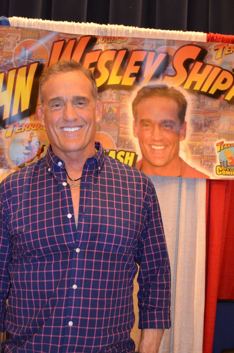 John Wesley Shipp from <i>The Flash</i> at <i>TerrifiCon</i> at Mohegan Sun