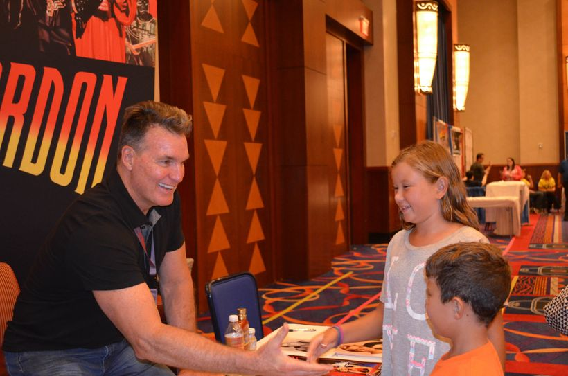Sam Jones from <i>Flash Gordon</i> greeting fans at <i>TerrifiCon </i>at Mohegan Sun
