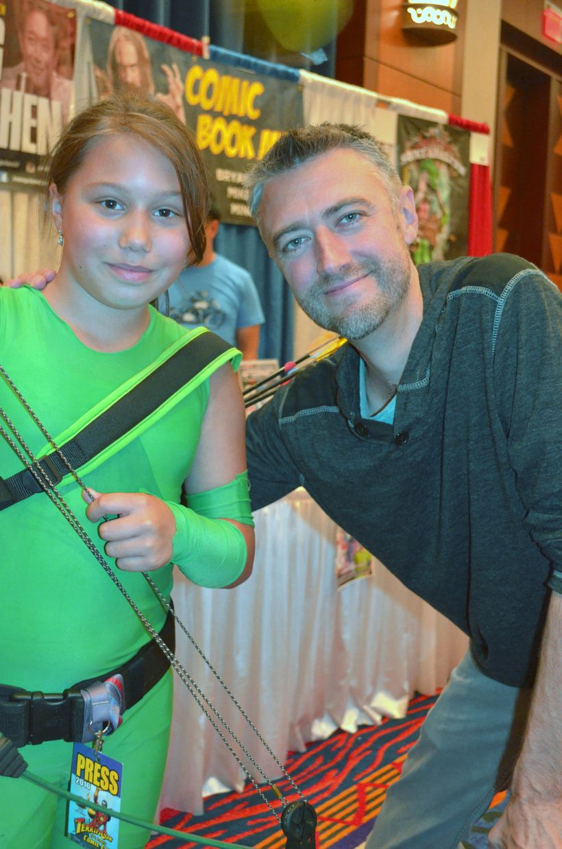 Sean Gunn from <i>Guardians Of The Galaxy</i> and fan at <i>TerrifiCon </i>at Mohegan Sun