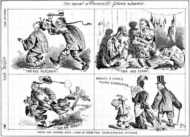 "A 1877 cartoon portraying Chinese immigrants as murderous criminals appeared <a href=""https://thomasnastcartoons.com/tag/1877"