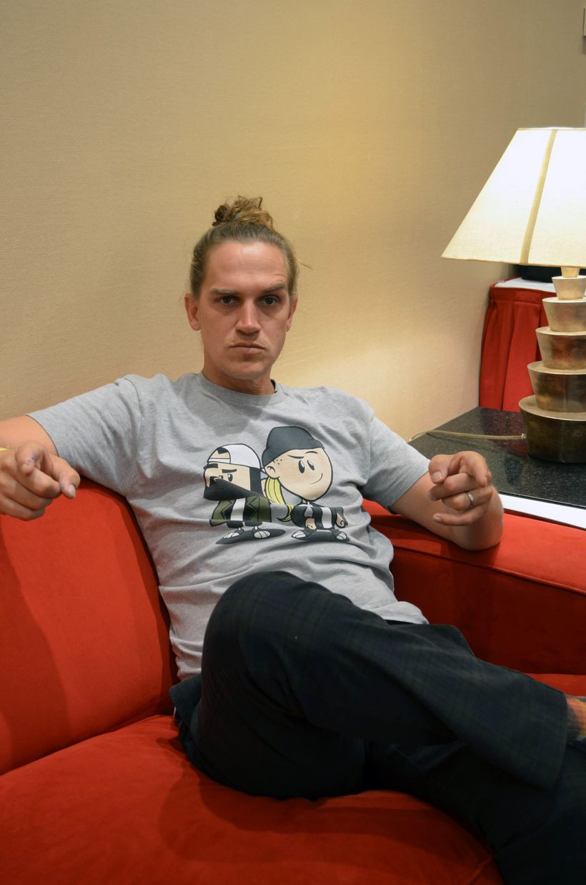 Jason Mewes at <i>TerrifiCon </i>at Mohegan Sun